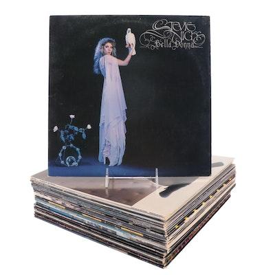 Stevie Nicks, Pink Floyd, The Cars, Pat Benatar, Other Vinyl Rock LP Records