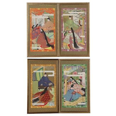 Japanese Offset Lithographs After Manabu Saito