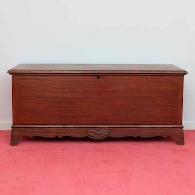"""Lane """"Aroma-Tite"""" Federal Style Mahogany and Cedar-Lined Chest, 20th Century"""