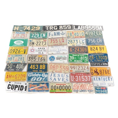 American and International Vehicle Vanity and License Plates