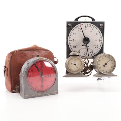 Eastman Kodak, Dimco-Gray and Other Interval Timers, Early/Mid 20th Century