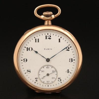 1920 Elgin Gold Filled Pocket Watch