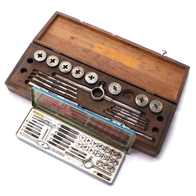 G. T. & D. Corporation and Ludell Combination Screw Plate Tap and Die Sets