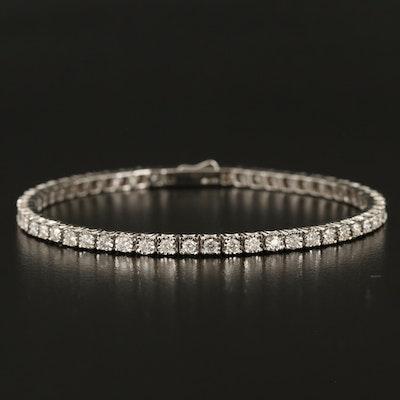 14K 1.96 CTW Diamond Line Bracelet