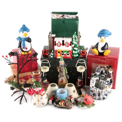 Friendly Folk and Other Christmas Figurines and Decor