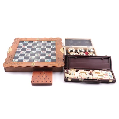 Chinese Style Chess Board, Rummikub and Other Games