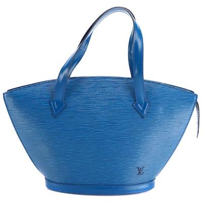 Louis Vuitton Saint-Jacques Handbag in Toledo Blue Epi Leather