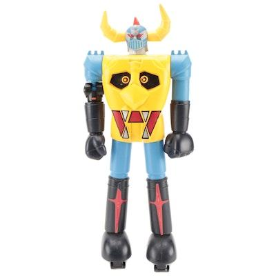 Bandai Shogun Warriors Gaiking Robot Action Figure, 1976