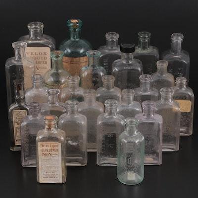 Eastman Kodak, American Aristotype and Other Photography Chemical Bottles