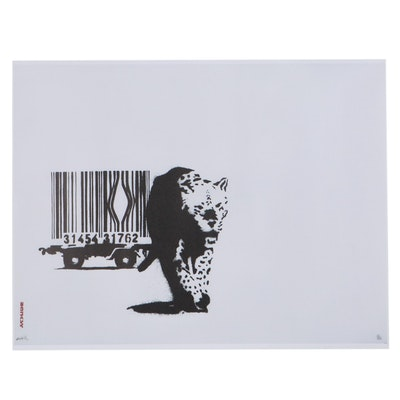 """Giclée After Banksy """"Barcode,"""" 21st Century"""