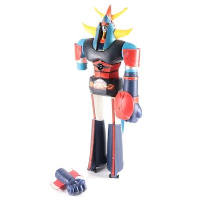 Bandai Shogun Warriors Raideen 1st Version Robot Action Figure, 1970s
