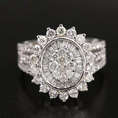 14K 1.77 CTW Diamond Ring