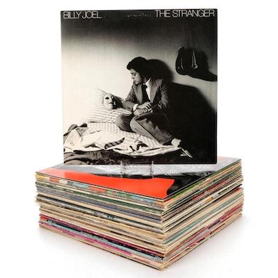 Beach Boys, REO Speedwagon, Rolling Stones, Elton John, Jackson Browne,  Vinyls