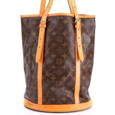 Louis Vuitton Bucket Bag in Monogram Canvas