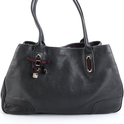 Gucci Princy Black Leather Shoulder Bag