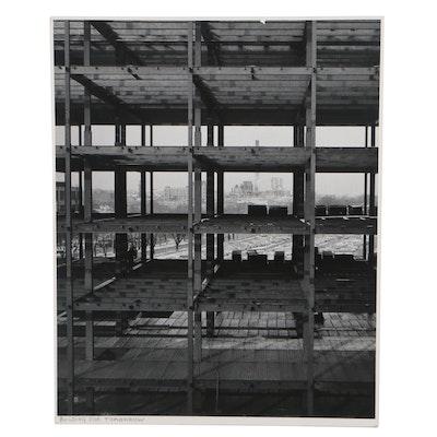 "Grant M. Haist Silver Print Photograph ""Building For Tomorrow"""