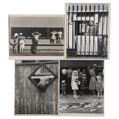 """Grant M. Haist Silver Print Portrait Photographs """"Viewpoint,"""" and More"""