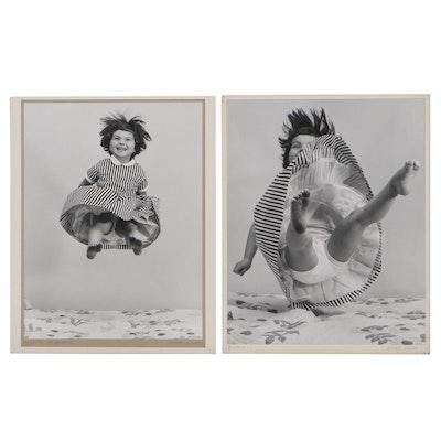 "Grant M. Haist Silver Print Portrait Photographs ""Plenty of Bounce"""