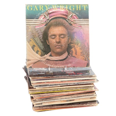 The Eagles, Fleetwood Mac, Pink Floyd, Van Halen, Other Vinyl Rock LP Records