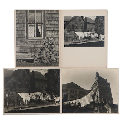 """Grant M. Haist Silver Print Photographs """"Woman's Work"""" and More"""