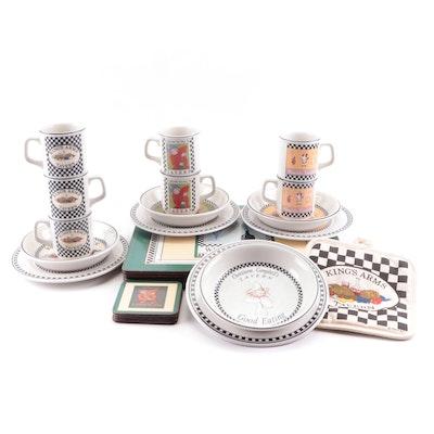 "Homer Laughlin ""Williamsburg"" Taverns Ceramic Dinnerware and More"