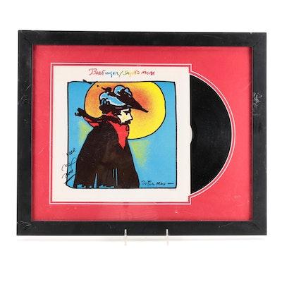 "Badfinger Signed Framed ""Say No More"" Album Cover, 2001"
