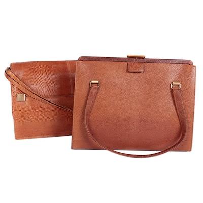 Coblentz Frame Handbag and Jay Herbert Flap Front Shoulder Bag