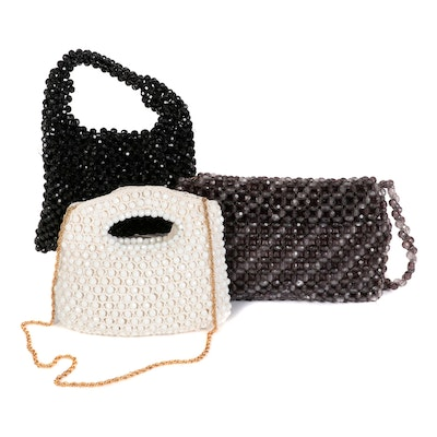 Rosenfeld, Delill, and Other Beaded Handbags and Clutch Purse