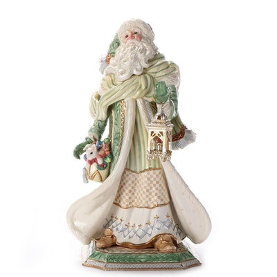 Fitz and Floyd Gregorian Collection Santa Claus Figurine