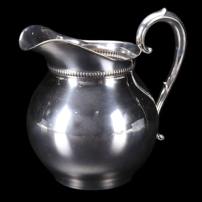 """Wallace """"1460"""" Sterling Silver Water Pitcher"""