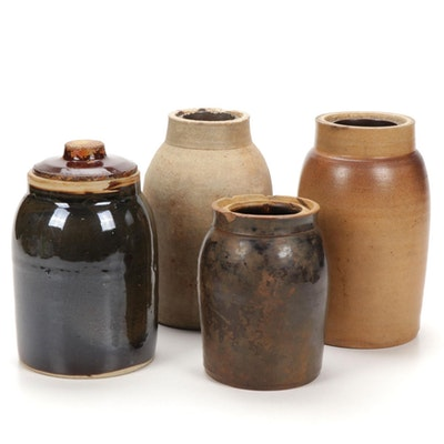 Earthenware Jugs, Jars, and Crocks