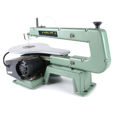 Central Machinery Variable Speed Scroll Saw with Air Pump