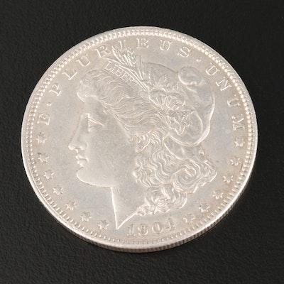 Better Date 1904 Morgan Silver Dollar