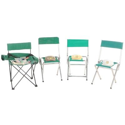 PGA Masters Golf Tournament Folding Chairs, Caps and Memorabilia