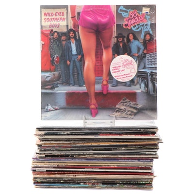 Cheap Trick, Deep Purple, Led Zeppelin, Rush, Other Vinyl Rock LP Records