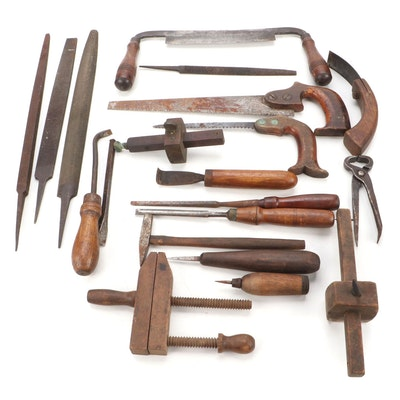 Files, Saws, Chisels, and Other Woodworking Hand Tools
