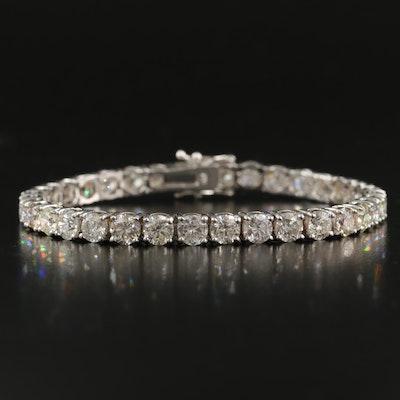 18K 15.08 CTW Diamond Line Bracelet