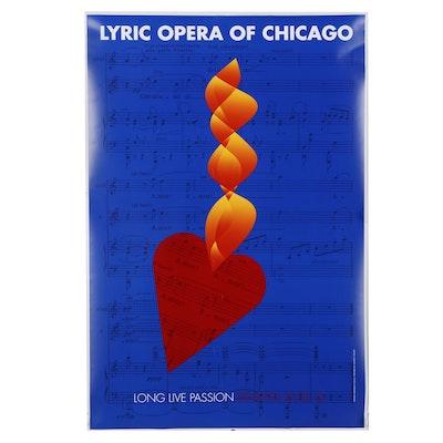 "Per Arnoldi Digital Print ""Lyric Opera of Chicago,"" 2012"