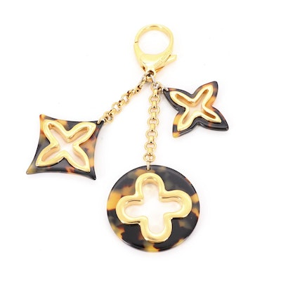 Louis Vuitton Insolence Bag Charm in Ecaille