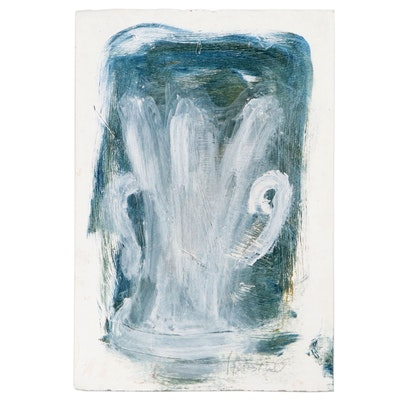 Carol J. Stensrud Abstract Acrylic Painting, 21st Century