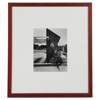 Urban Landscape Silver Print Photograph