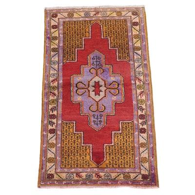3' x 5'6 Hand-Knotted Turkish Dazkiri Area Rug