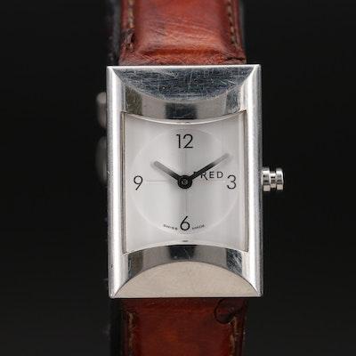 Swiss Made Fred Stainless Steel Quartz Wristwatch
