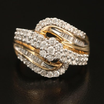 10K 1.00 CTW Diamond Ring