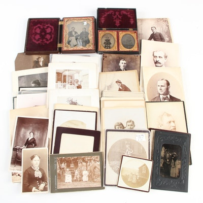 Portrait Photographs, Mid-19th to Early 20th Century