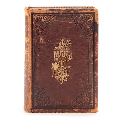"""Illustrated """"Man, the Masterpiece"""" by J. H. Kellogg, 1891"""