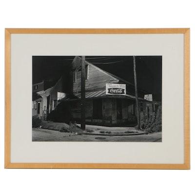 "William Maguire Silver Gelatin Photograph ""Joe's, New Orleans,"" 1975"