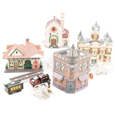 """Department 56 """"The Original Snow Village"""" Ceramic Buildings and Accessories"""