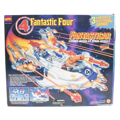 Sealed Fantastic Four Fantasticar Action Figure Vehicle by Toy Biz