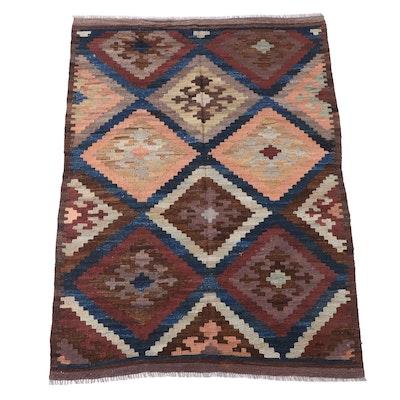 6'5 x 9' Handwoven Afghan Kilim Area Rug